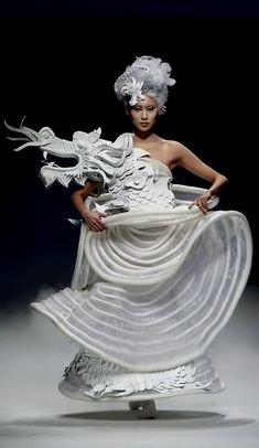Dragon Haute Couture - Xu Ming Haute Couture Collection from the China Fashion Week, 2013