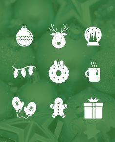 Freebie | Christmas Icon Set