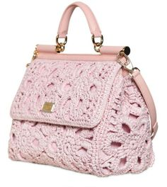 dolce and gabbana miss sicily crochet bag - Google Search