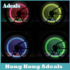 Find More Bicycle Light Information about Fashion 2Pcs Bicycle wheel motorcycle on sale Flash Tyre Wheel Valve Cap Light car LED Wheel Light daytime running light source,High Quality Bicycle Light from HongKong Adeals Auto Technology Co. Ltd  on Aliexpress.com