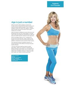 Kathy Coover at the age of 61 is the picture of aging I am striving for.
