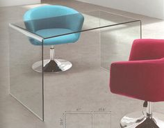 Caravan Desk #modernfurniture #sleek #interiors #interiordesign #Atlanta  #buckhead #hufffurniture