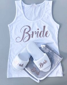 Of course it's Meghan's day to shine — but she'll never know what you wore! Are you also tying the knot in Use the watch party as another reason to rock your Bride pajama gear! Unique Bridal Shower, Bridal Shower Party, Wedding Gifts For Bride, Bridal Gifts, Wedding Ideas, Pyjamas, Personalized Pajamas, Personalised Gifts, Wedding Beauty