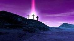 calvary cross | Crosses on Calvary - HD stock footage clip