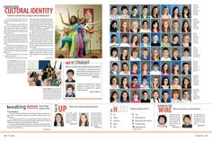 Some nice People section features: Carmel High School yearbook pages 232-233