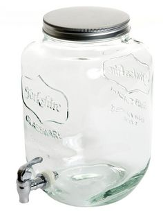 Mason Jar Drink Dispenser - perfect for summer