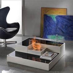 Tetris Modular Fireplace by Horus