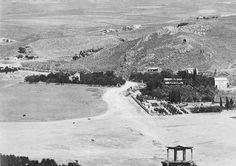Αθήνα 1872 Pascal Sebah. Μετς Αγία Φωτεινή Ιλισός  Αψίδα Αδριανού.