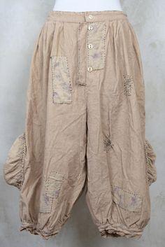Cotton Corduroy Trousers in Grain - Magnolia Pearl