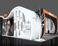 Exhibition area 11X10 3DMAX2009-014 3D Model