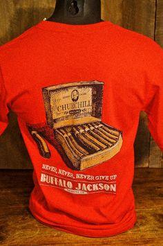 Winston Churchill Cigar - Pocket T-Shirt