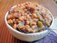Eyed Pea Soup Crockpot Recipe | Get Crockin'! | Pinterest | Black Eyed ...