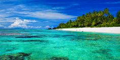 Aitutaki Islands is one of the the Cook Islands north of Rarotonga located in the Central Southern Pacific Ocean in association to New Zealand. Dream Vacation Spots, Dream Vacations, Belize, Destinations, Paradise Travel, Island Beach, South Pacific, Pacific Ocean, Cook Islands