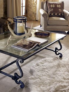 Ralph Lauren Home  #AlpineLodge. I've seen that candle holder at the Christmas Tree Shop!