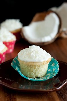 Coconut Cupcakes with Coconut Frosting - Cooking Classy  Made these for a wedding shower and they were a HUGE hit.  Best cupcake!