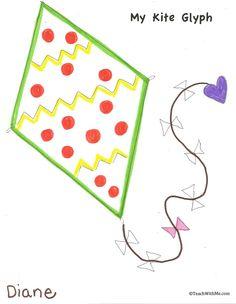 Classroom Freebies: Kite Glyph