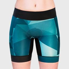 Geo Tri Short - BRAVA Triathlon Canada - Women triathlon clothing