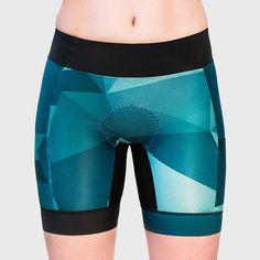 Geo Tri Short - BRAVA Triathlon Canada - Women triathlon clothing