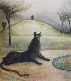 Alfred Kubin - Fabeltier (Dream animal), 1903