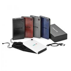Vinyl power bank with 2 USB output ports that supplies DC and output currents and LED battery status indicatorsCapable of charging 2 devices at the same time by using both USB ports individuallyIncludes a USB/micro-USB charging cable an Staff Gifts, Client Gifts, All Iphones, Latest Gadgets, Drawstring Pouch, Business Gifts, Charging Cable, Corporate Gifts, Black Suede