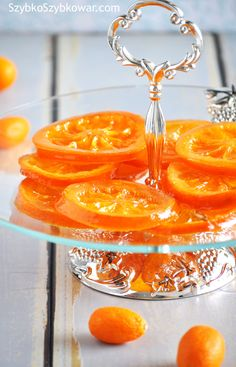 candied oranges with pressure cooker Preserves, Panna Cotta, Cooker, Veggies, Menu, Herbs, Homemade, Fruit, Healthy