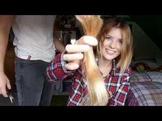 Haare abrasieren!! - Krebs   Sandra Tyson - YouTube