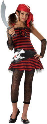 California Costumes Teens Pirate Cutie Costume,Red/Black,Large California Costumes  | Shop Halloween Costumes  | World of Adult Costumes  | Kids Halloween Costumes  |  http://www.worldofadultcostumes.com/