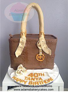 Mk Micheal Kors Bag cake
