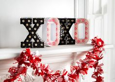 Marquee Love™ XOXO Letters