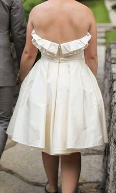 Romona Keveza 'Monet' size 8 used wedding dress - Nearly Newlywed