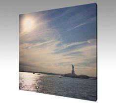 Photo Art Canvas Statue of Liberty New York by theARTofSQUARE