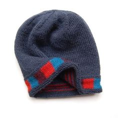 An extra-warm lined hat with blocks of bold colour against a dark sky. Fully reversible, this hat co-ordinates with the other pieces in the Safe Haven story. Pick-out your favourite tones. Seamless, the colourwork is all simple stripes, no intarsia. This is a great project for an intermediate knitter - skills used include a provisional cast on, working in the round and 3-needle bind-off. You only need half a ball of each of the contrast colours, so you can put the leftovers towards one of…