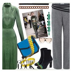 get the look..striking piece by paculi on Polyvore featuring Cuero, Transparente, GetTheLook and fall2015