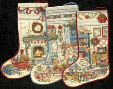 OMGosh.... these stockings are absolutely gorgeous! I am selling these for my new customer (SH) which stands for Stephanie's Heirlooms. Ma...