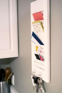 shutter mail holder