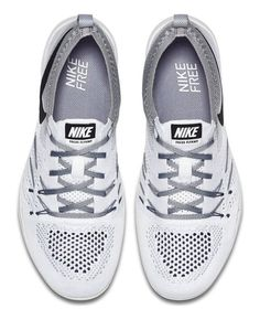$208 - NIKE WOMEN FREE TR FOCUS FLYKNIT WHITE/BLACK-WOLF GREY 844817-100_6 #shoes #nike