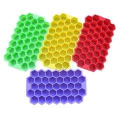 1PCS Silicone Ice Cube Tray Mini Small Mold Ice Maker 3 Types