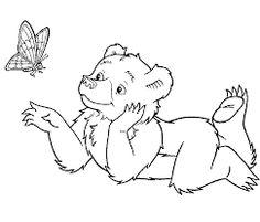 Afbeeldingsresultaat voor twee beren kleurplaat