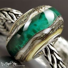 If you like Trollbeads or Pandora, check out Eagle Bay Designs... beautiful beads!