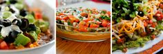 Recipes for Style – 7-Layer Bean Dip