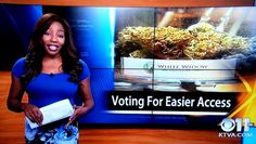 "KTVA reporter Charlo Greene quit her job on live TV last night, outing herself as the owner of an Alaskan cannabis club and declaring ""f*ck it""."