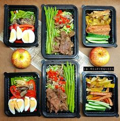 Monday meal prep done! Come on week I'm ready to tackle chu!   L: egg red peppers mushrooms #zoodles asparagus .  M: beef asparagus zoodles red peppers garlic mushrooms  R: sweet potatoes #frankfurts cukes      #ShredzKitchen #fitfood  #mealprepdaily #AbsAreMadeInTheKitchen #mealprepinspo #CleanEats  #EatForAbs #packedlunch #tasty #FoodPrep #food #healthyfood #mealprepping #foodporn #foodstagram #EatCleanTrainDirty  #healthymeals  #mealprepdaily #fit #lunchbox #MealPrepIdeas #mealpreps…