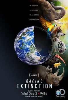Racing Extinction. Watch. Then start with 1 thing.