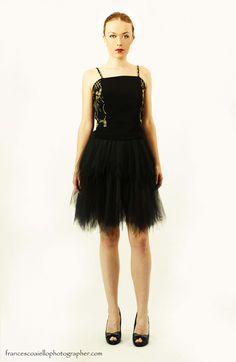 Cancan negro para vestido corto