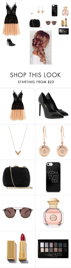 """I don't wanna live forever!!!"" by ceceandjessie ❤ liked on Polyvore featuring True Decadence, Yves Saint Laurent, Louis Vuitton, Aurélie Bidermann, Serpui, Oliver Peoples, Tory Burch and Maybelline"