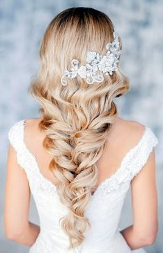 Get #inspired by these #gorgeous #wedding #hairstyles that will leave any #bride tressed.. #modern, #classic, #boho #chic, #beach, #vintage and so on.