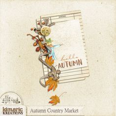 kimeric kreations: The last Autumn Country Market clusters to share!
