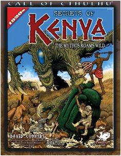 FRP GAMES - PRODUCT - Call of Cthulhu: Secrets of Kenya
