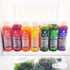 When your fridge is feeling mighty fine… #itsthejuice #suja