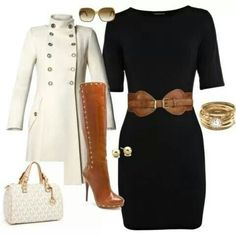 Nice outfit with a Micheal Kors purse
